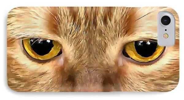 Cat Musya IPhone Case by Sergey Lukashin