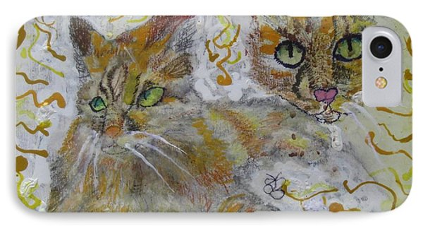 Cat Named Phoenicia IPhone Case