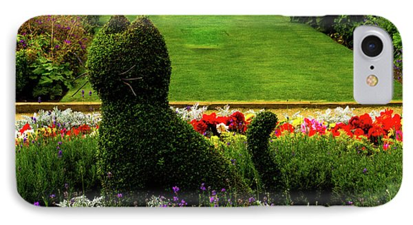 Cat Topiary Belfast IPhone Case