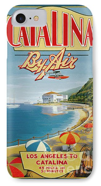 Catalina By Air IPhone Case by Nostalgic Prints