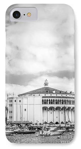 Catalina Casino Black And White Photo IPhone Case by Paul Velgos