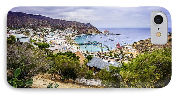 Catalina Island Avalon California From Above IPhone Case by Paul Velgos