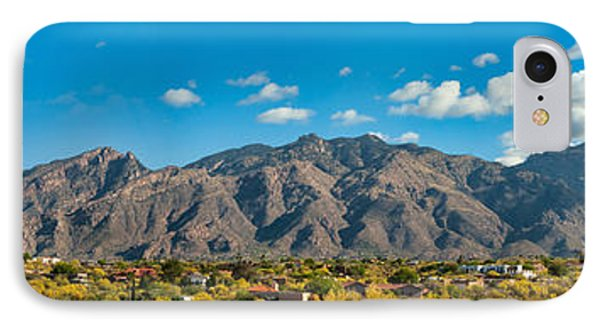 IPhone Case featuring the photograph Catalina Mountain Panorama by Dan McManus