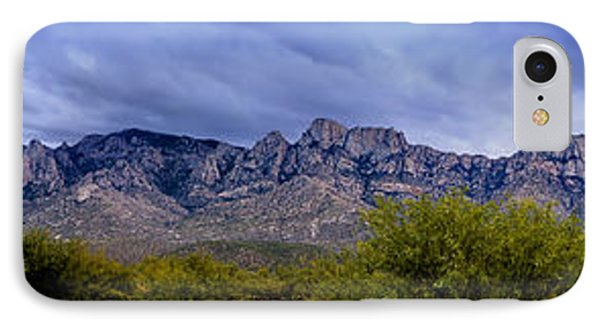 IPhone Case featuring the photograph Catalina Mountains P1 by Mark Myhaver