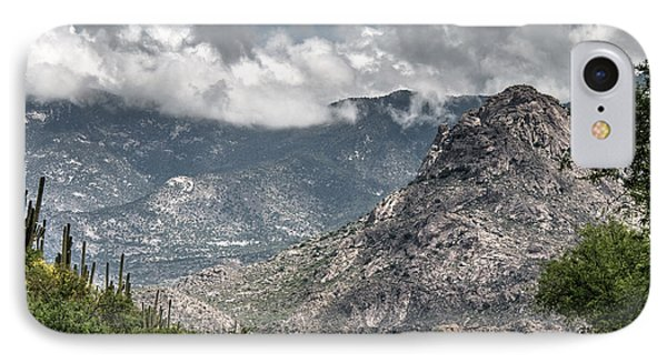 Catalina Mountains IPhone Case by Tam Ryan