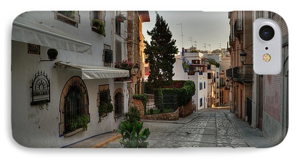 IPhone Case featuring the photograph Catalonia - The Town Of Sitges 003 by Lance Vaughn