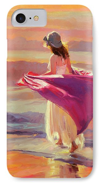 Catching The Breeze IPhone Case by Steve Henderson