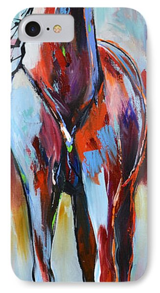 IPhone Case featuring the painting Catching Wind by Cher Devereaux