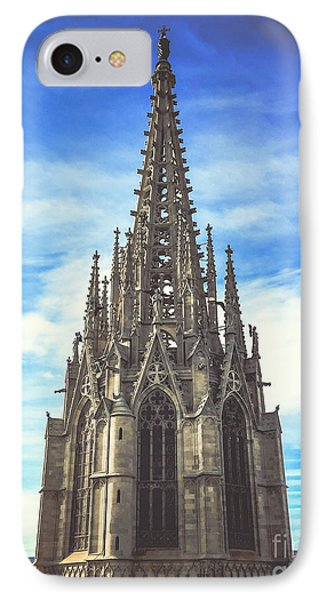 IPhone Case featuring the photograph Catedral De Barcelona by Colleen Kammerer