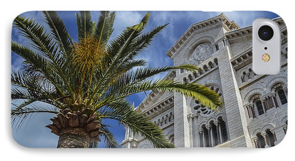 IPhone Case featuring the photograph Cathedral At Monte Carlo by Allen Sheffield