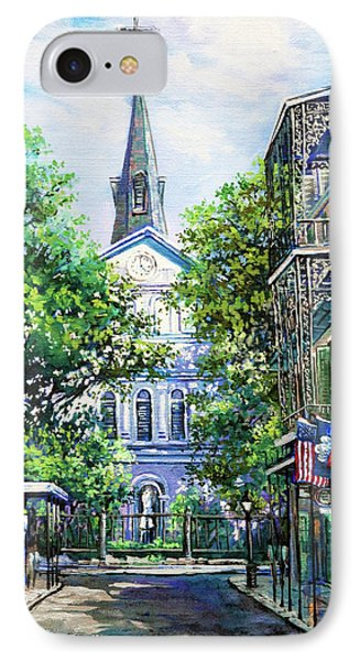 Cathedral At Orleans IPhone Case by Dianne Parks