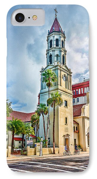 IPhone Case featuring the photograph Cathedral Basilica by Anthony Baatz