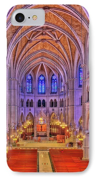 IPhone Case featuring the photograph Cathedral Basilica Of The Sacred Heart Newark Nj II by Susan Candelario