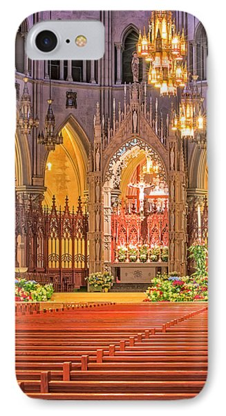IPhone Case featuring the photograph Cathedral Basilica Of The Sacred Heart Newark Nj by Susan Candelario