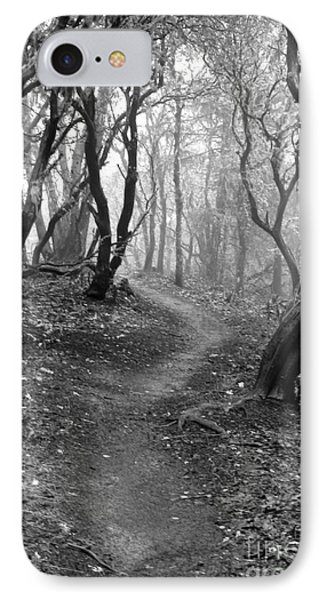 Cathedral Hills Serenity In Black And White IPhone Case by Marie Neder