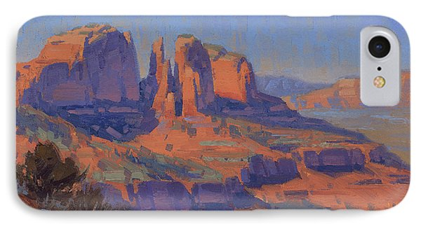 Cathedral In The Heat IPhone Case by Cody DeLong