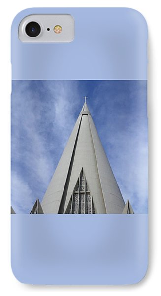 Cathedral Minor Basilica Our Lady Of Glory IPhone 7 Case by Bruna Lima