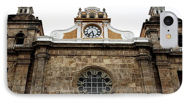 Cathedral Of Cartagena Phone Case by John Rizzuto