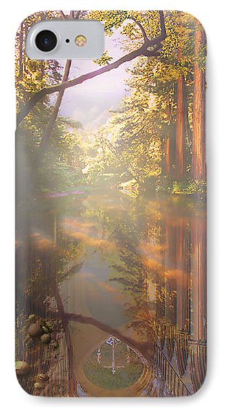 Cathedral Redwoods Phone Case by Robby Donaghey