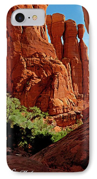 Cathedral Rock 06-124 Phone Case by Scott McAllister