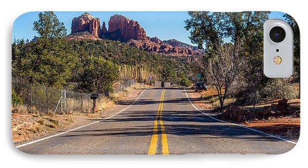 Cathedral Rock #2 IPhone Case by Jon Manjeot