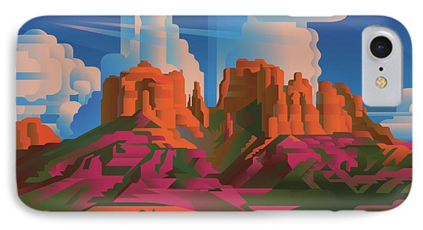 Cathedral Rock Arizona IPhone Case