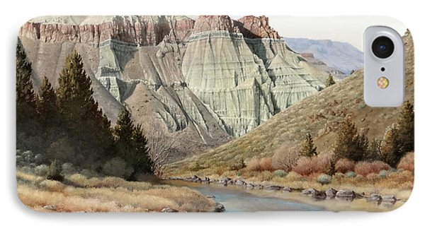 Cathedral Rock John Day River IPhone Case