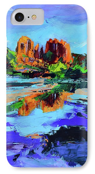 Cathedral Rock - Sedona IPhone Case by Elise Palmigiani