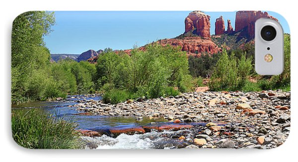 Cathedral Rock - Sedona IPhone Case by John Absher