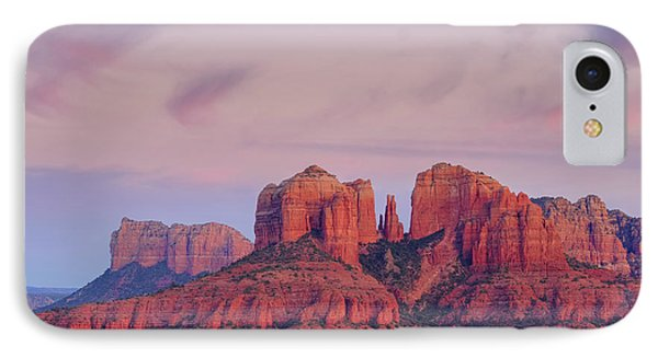 Cathedral Rock IPhone Case by Patricia Davidson