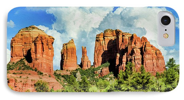 Cathedral Sed M 04-115 IPhone Case by Scott McAllister