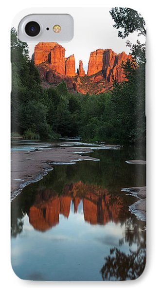 Cathedral Sunset IPhone Case by Bill Cantey