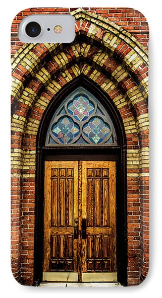 Cathedral Tower Door IPhone Case by Onyonet  Photo Studios
