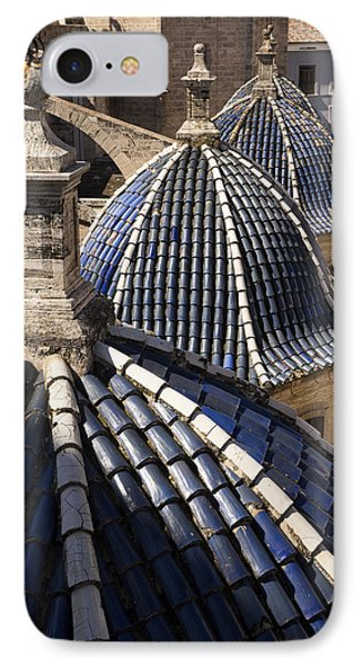 Cathedral Valencia Side Domes IPhone Case by For Ninety One Days