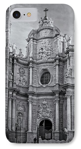 IPhone Case featuring the photograph Cathedral Valencia Spain by Joan Carroll