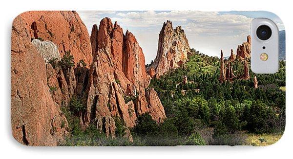 Cathedral Valley, Colorado IPhone Case