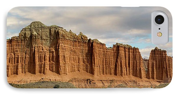 Cathedral Valley Wall IPhone Case by Gary Warnimont