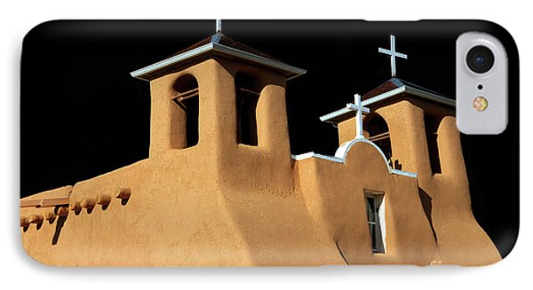 St Francis De Assi Church  New Mexico IPhone Case by Bob Christopher