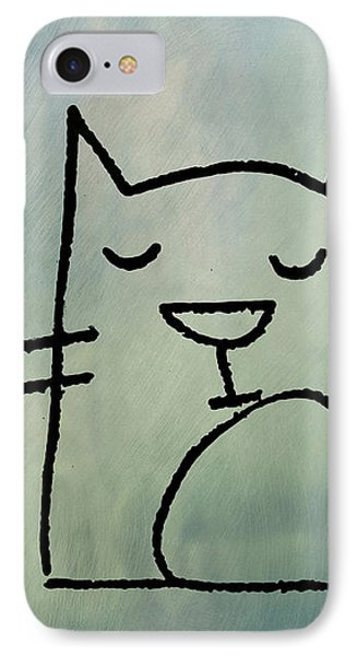 Catnap IPhone Case by Bill Cannon