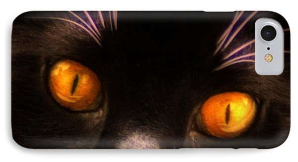 Cats Eyes Phone Case by Bill Cannon