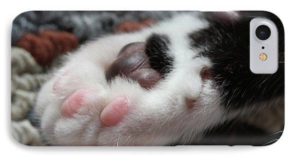 Cats Paw IPhone Case by Kim Henderson