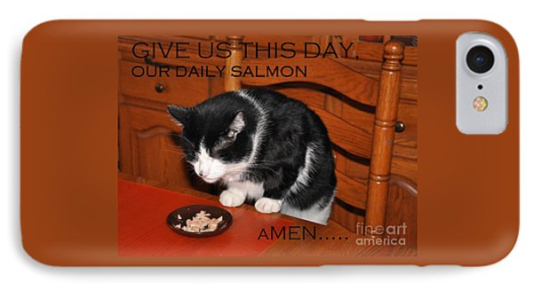 Cat's Prayer Revisited By Teddy The Ninja Cat IPhone Case