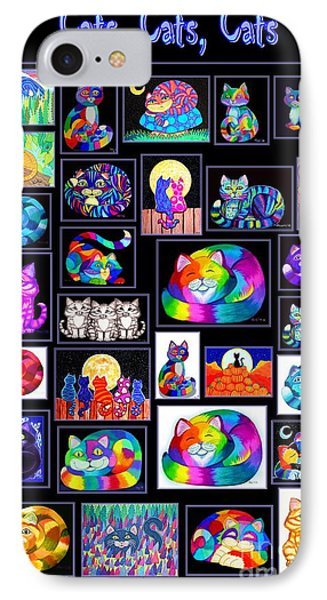 Catscatscats IPhone Case
