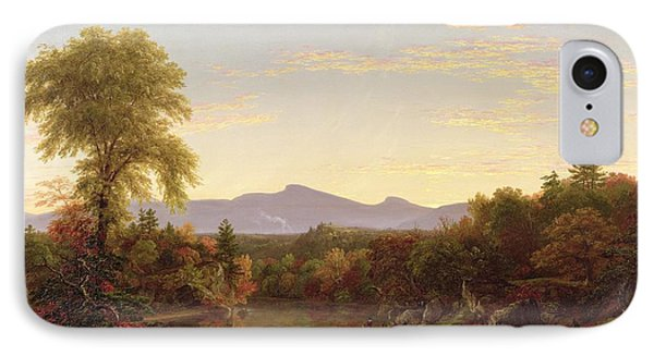 Catskill Creek - New York IPhone Case by Thomas Cole