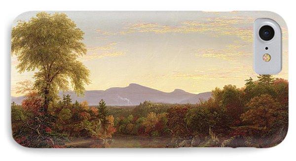 Catskill Creek - New York IPhone Case by Thomas Cole