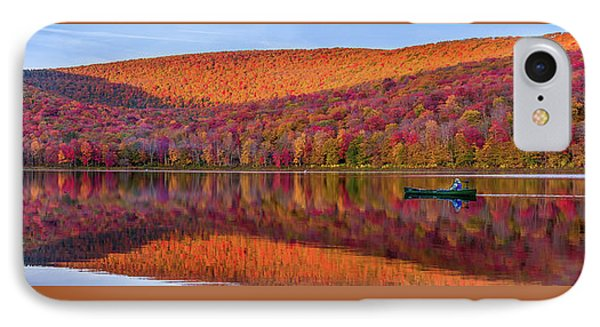 IPhone Case featuring the photograph Catskills Panorama 1 by Mark Papke