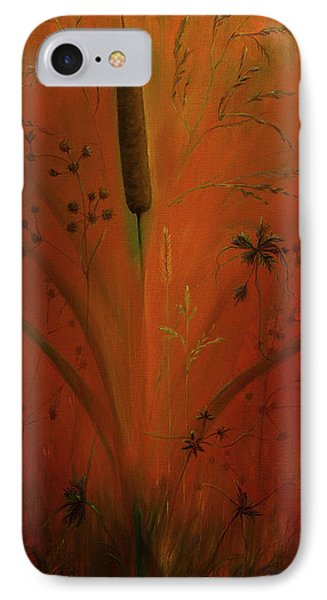 Cattail  IPhone Case by Zina Stromberg