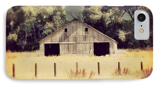 Hwy 3 Barn IPhone Case by Julie Hamilton