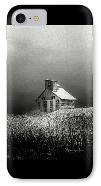 Cattle Feed For The Winter IPhone Case by Marvin Spates