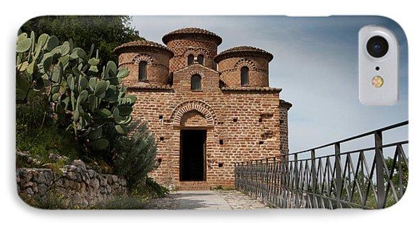 IPhone Case featuring the photograph Cattolica Di Stilo by Bruno Spagnolo